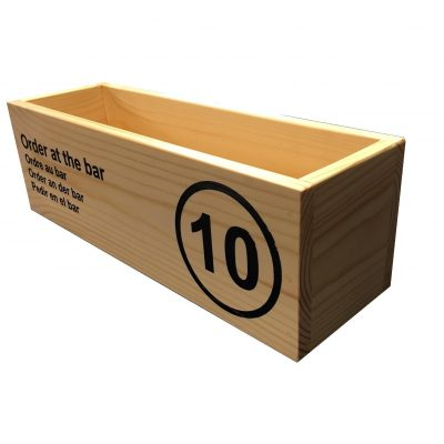 condiment box