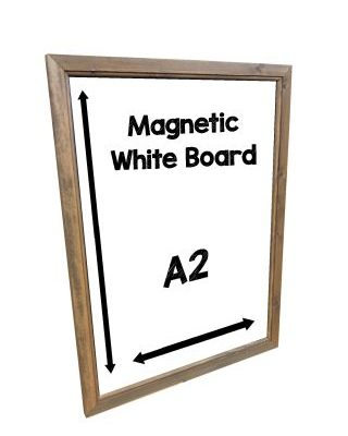 magnetic whiteboard A2